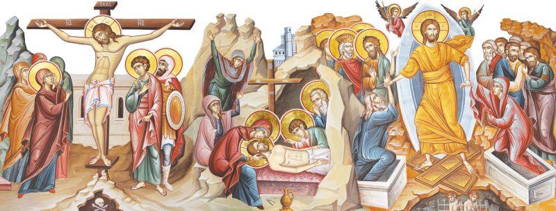 Învierea Domnului (Sfintele Paști) - foto preluat de pe www.facebook.com/basilica.ro