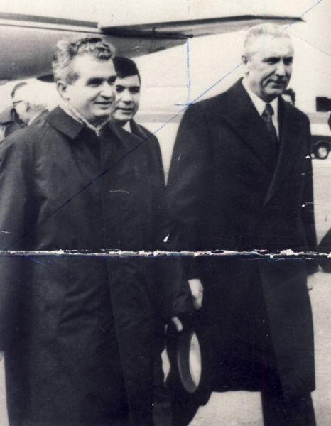 19 aprilie 1974. Vizita lui Nicolae Ceaușescu în Polonia - foto preluat de pe www.comunismulinromania.ro/