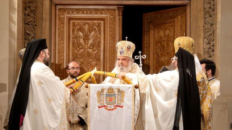 Noaptea de Înviere la Patriarhie (19 aprilie 2020) - foto preluat de pe basilica.ro