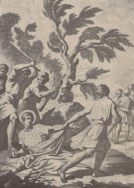 Sfântul mucenic Sava de la Buzău, cunoscut și sub numele Sava Gotul, s-a născut în anul 334 (aproximativ), în Dacia, în zona deluroasă a Subcarpaților de Curbură, în apropiere de râul Mousaios (Buzăul de azi). Biserica Ortodoxă Română îl prăznuiește pe data de 12 aprilie - foto preluat de pe ro.wikipedia.org