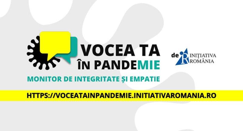 Vocea TA în pandemie – Monitor de integritate și empatie - foto preluat de pe www.facebook.com/initiativaromania2016