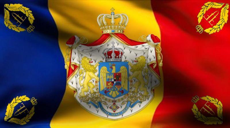 Steagul Regal al României - foto preluat de pe www.facebook.com