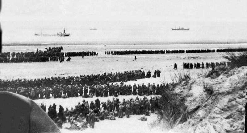 Bătălia de la Dunkerque (26 mai – 4 iunie 1940) - foto preluat de pe www.agerpres.ro