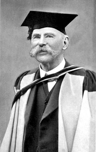 """Douglas Hyde (n. 17 ianuarie 1860 – d. 12 iulie 1949), denumit și An Craoibhín Aoibhinn (""""Frumoasa rămurică""""), a fost un intelectual de limbă irlandeză care a fost primul președinte al Irlandei între 1938 și 1945. A înființat Gaelic League, una dintre cele mai influente organizații culturale din Irlanda acelei perioade - foto preluat de pe en.wikipedia.org"""