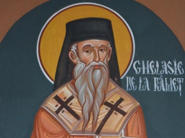 Sfântul Ierarh Ghelasie de la Râmeț (sec. al XIV-lea) - foto preluat de pe basilica.ro