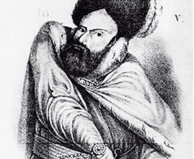 Ioan Vodă cel Viteaz (alternativ Ioan Vodă cel Cumplit sau Ioan Vodă Armeanul; n. 1521 - d. 1574) a fost domnul Moldovei din februarie 1572 până în iunie 1574. Era fiul lui Ștefăniță cu armeanca Serpega. După domnia sa, în Moldova a fost introdusă instituția mucarerului - foto preluat de pe adevarul.ro