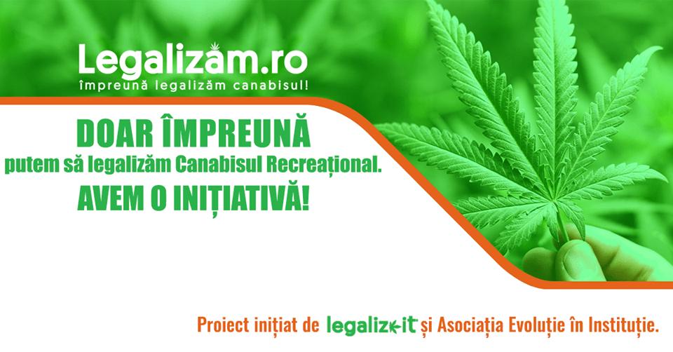 Legalizam.ro - Doar împreună putem să legalizăm Canabisul. Avem o inițiativă! - foto preluat de pe www.facebook.com/legalizam.ro