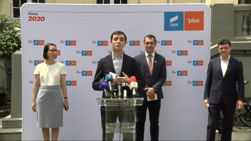 Bilanț după 4 ani de mandat al consilierilor USR în București și perspective de viitor cu viitorii candidați USR PLUS - foto captura video