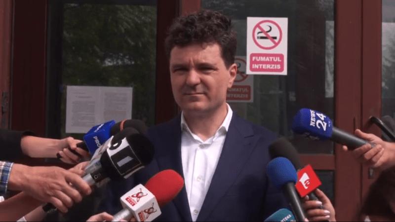 Nicușor Dan - Declarație de presă LIVE de la Parchet (22 iunie 2020) - foto captura video