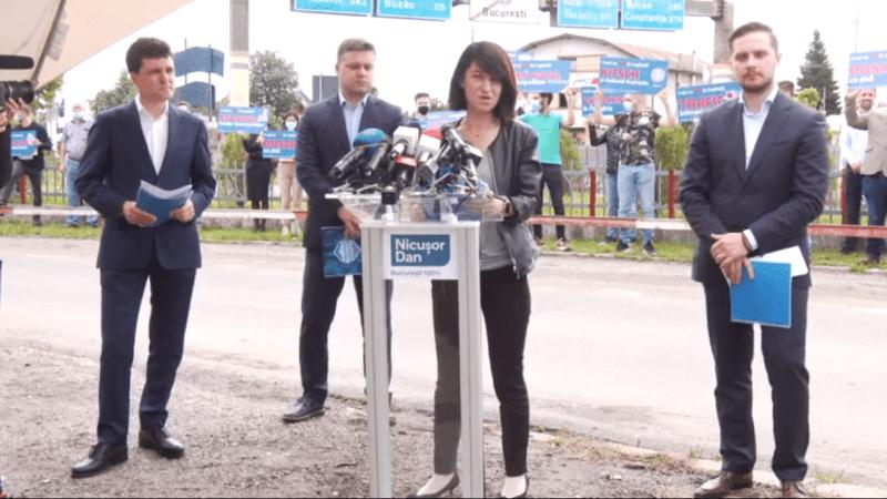 """Conferință de presă: """"București, 4 ani de catastrofă PSD"""" (23 iunie 2020) - foto captura video"""