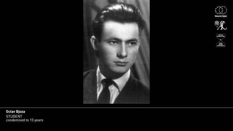 """Octav Bjoza (n. 11 august 1938) arestat la 25 iunie 1958, condamnat la 15 ani muncă silnică pentru """"uneltire contra ordinii sociale"""" - foto preluat de pe www.facebook.com"""