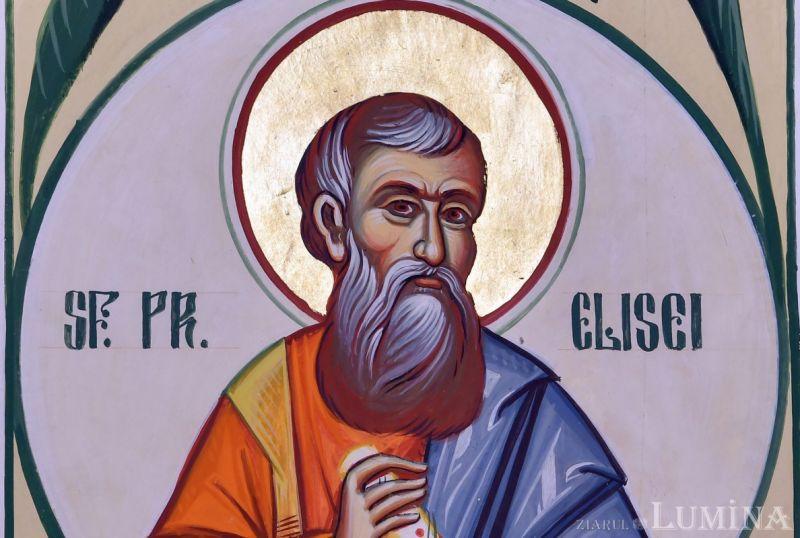 Sf. Proroc Elisei (†856 î.Hr.) - foto preluat de pe ziarullumina.ro