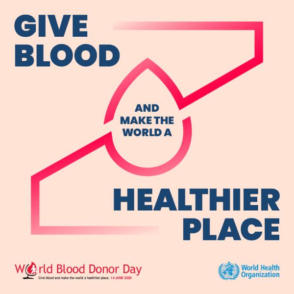 14 iunie - Ziua mondială a donatorului de sânge (OMS) - foto preluat de pe www.facebook.com/WHO