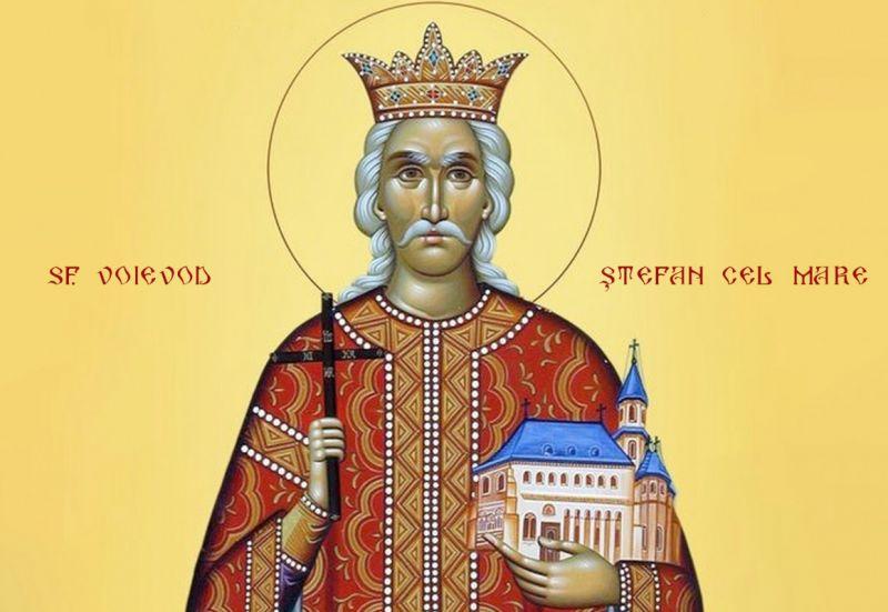 Sfântul Voievod Ştefan cel Mare - (n. 1433, Borzești - d. 2 iulie 1504, Suceava) - foto preluat de pe ziarullumina.ro