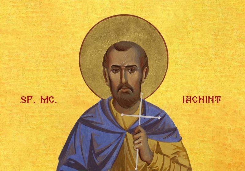 Sfântul Mucenic Iachint (†108) - foto preluat de pe ziarullumina.ro