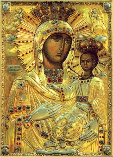 """Icoana Maicii Domnului """"Îndrumătoarea"""" - foto preluat de pe basilica.ro"""
