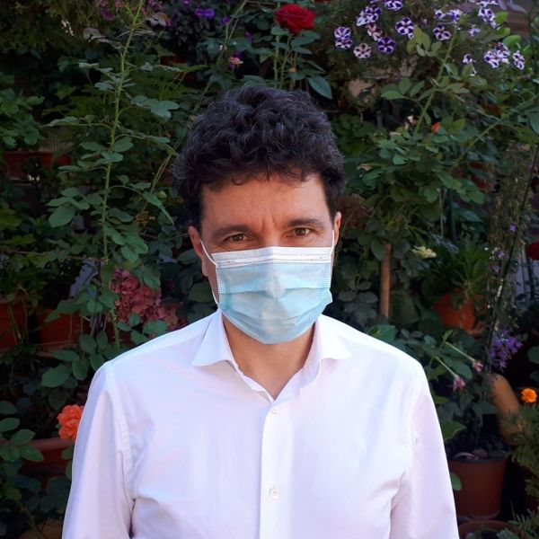 Nicușor Dan: Purtăm mască, salvăm vieți! (11 iulie 2020) - foto preluat de pe www.facebook.com/NicusorDan.ro