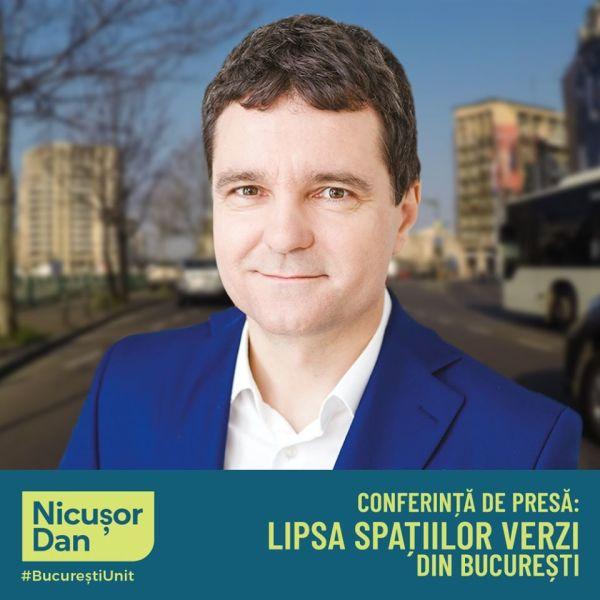 Conferință de presă Nicușor Dan, candidatul Dreptei la Primăria Capitalei! (3 iulie 2020) - foto preluat de pe www.facebook.com/NicusorDan.ro