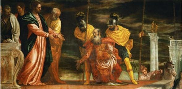 Vindecarea slugii sutaşului de Paolo Veronese, sec. al XVI-lea - foto preluat de pe ro.wikipedia.org