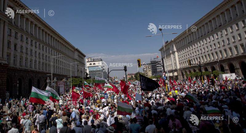 Opoziţia bulgară ameninţă cu intensificarea protestelor împotriva premierului Borisov (26 iulie 2020) - foto preluat de pe www.agerpres.ro
