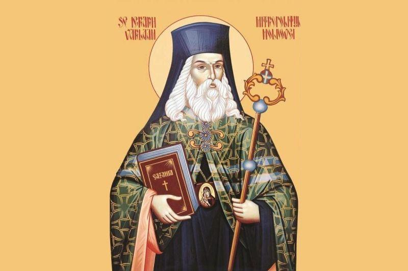Sfântul Ierarh Varlaam Moțoc, Mitropolit al Moldovei (1580/1585 – 1657) - foto preluat de pe ziarullumina.ro