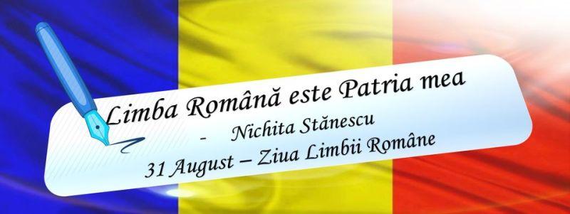 31 august - Ziua Limbii Române - foto preluat de pe www.facebook.com/ministeruldeinterne