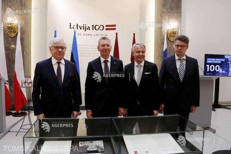 Letonia, Estonia, Finlanda şi Polonia cer o reuniune a UE pe tema situaţiei din Belarus (11 august 2020) - foto preluat de pe www.agerpres.ro