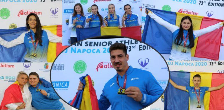 România a cucerit 29 de medalii la Campionatul Balcanic de atletism în aer liber pentru seniori de la Cluj Napoca 2020 - foto preluat de pe https://www.fra.ro/