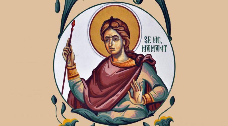 Sfântul Mucenic Mamant (†275) - foto preluat de pe ziarullumina.ro