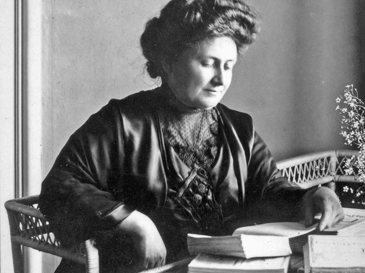 Maria Montessori (1870 - 1952) - foto preluat de pe life.ro