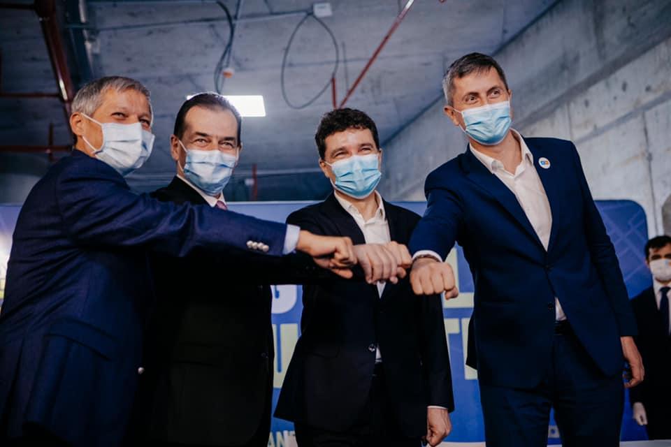 """""""Ne angajăm să ridicăm o administrație locală care să vă respecte timpul, sănătatea, banii, dorința de a trăi mai bine"""" Nicușor Dan (4 septembrie 2020) - foto preluat de pe www.facebook.com/NicusorDan.ro"""