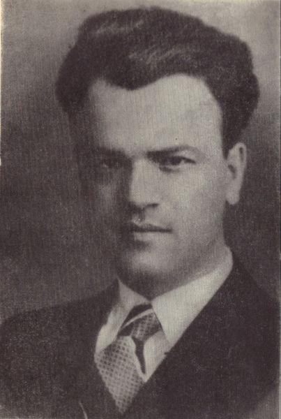 Pavel Dan (n. 3 septembrie 1907, Clapa, comitatul Turda - d. 2 august 1937, Cluj) a fost un scriitor român - Pavel Dan în 1935 - foto preluat de pe ro.wikipedia.org