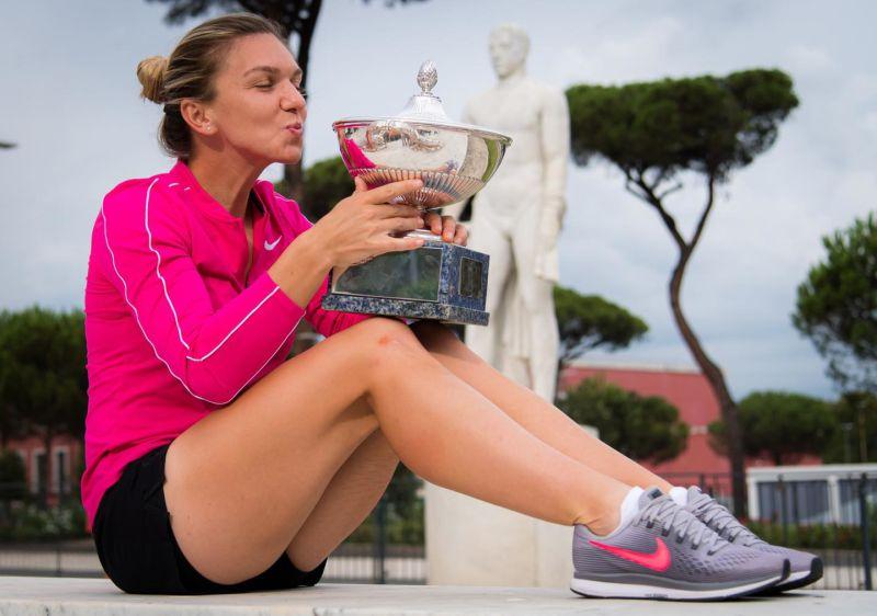 Simona Halep a câştigat turneul WTA de la Roma (21 septembrie 2020) - foto preluat de pe https://www.facebook.com/simonahalep/