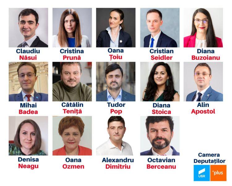 Alianța USR PLUS - Avem candidații USR PLUS din București la alegerile parlamentare! - foto preluat de pe www.facebook.com/alianta2020usrplus