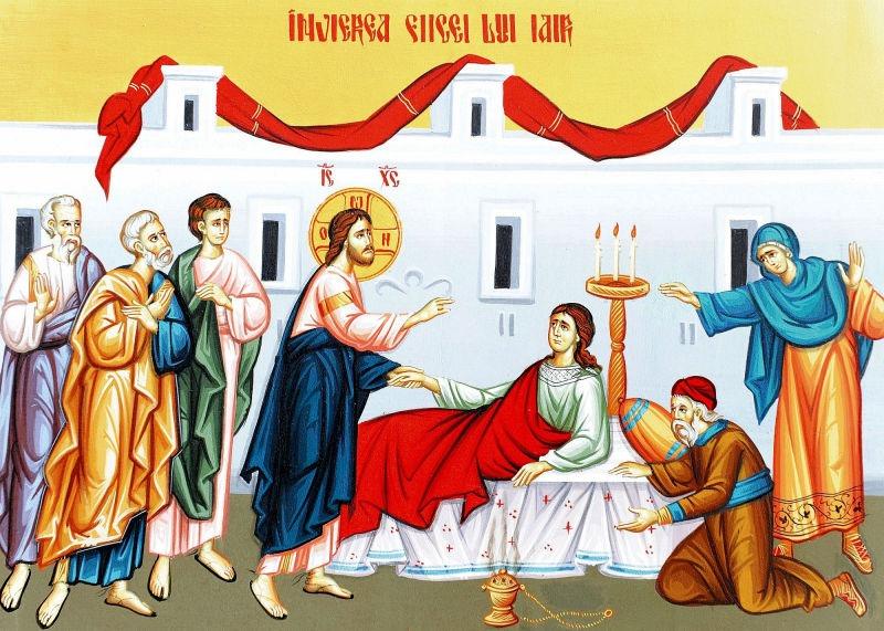 Învierea fiicei lui Iair - foto preluat de pe doxologia.ro