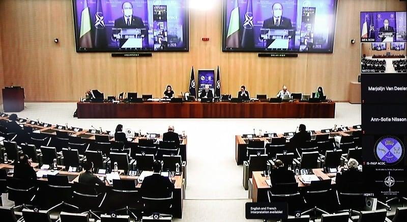 Conferința Internațională privind Securitatea Nucleară ICONS 2020 (10 noiembrie 2020) - foto preluat de pe www.facebook.com/mae.romania