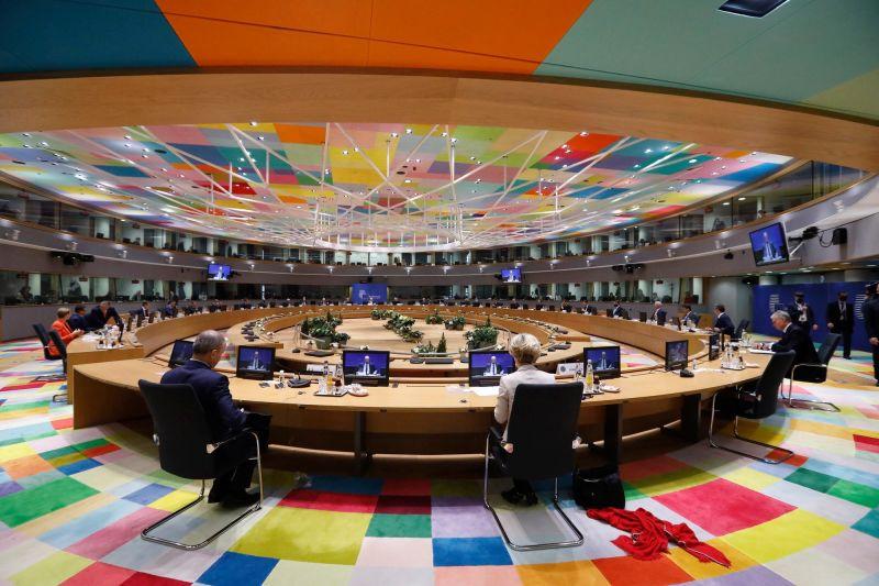 Consiliul European 10-11 decembrie 2020 - foto preluat de pe www.facebook.com/eucouncil