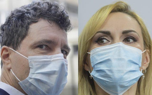 Nicușor Dan şi Gabriela Firea - foto preluat de pe www.g4media.ro