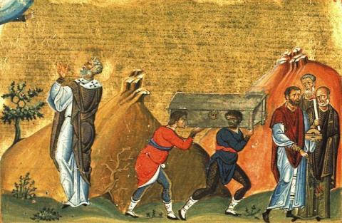 Sf. Ier. Dometian, episcopul Melitinei (†601) - foto preluat de pe doxologia.ro
