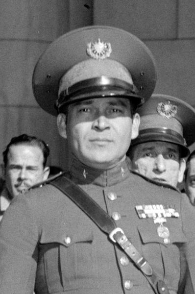 Generalul Fulgencio Batista (n. 16 ianuarie 1901, Banes, Protectoratul Statelor Unite asupra Cubei – d. 6 august 1973, Marbella, Spania franchistă) a fost un ofițer militar, politician și dictator cubanez (Batista in 1938) - foto preluat de pe en.wikipedia.org
