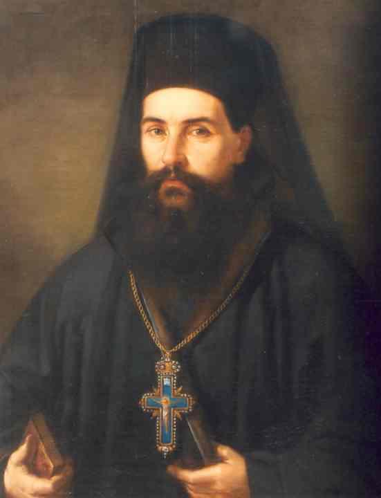 Arhimandritul Iosif Naniescu în 1865, portret pictat de Gheorghe Tattarescu şi expus la Muzeul Municipiului Bucureşti - foto preluat de pe ro.wikipedia.org
