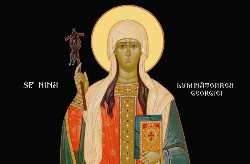 Sf. Nina, luminătoarea Georgiei (cca 290 - 338) - foto preluat de pe ziarullumina.ro