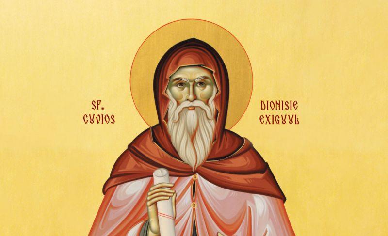 Sf. Cuv. Dionisie Exiguul (cel Smerit) - foto preluat de pe ziarullumina.ro
