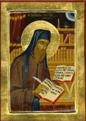 Sf. Cuv. Dionisie Exiguul (cel Smerit) - foto preluat de pe en.wikipedia.org